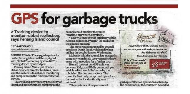 GPS for Garbage Trucks :: EVO GPS Tracker